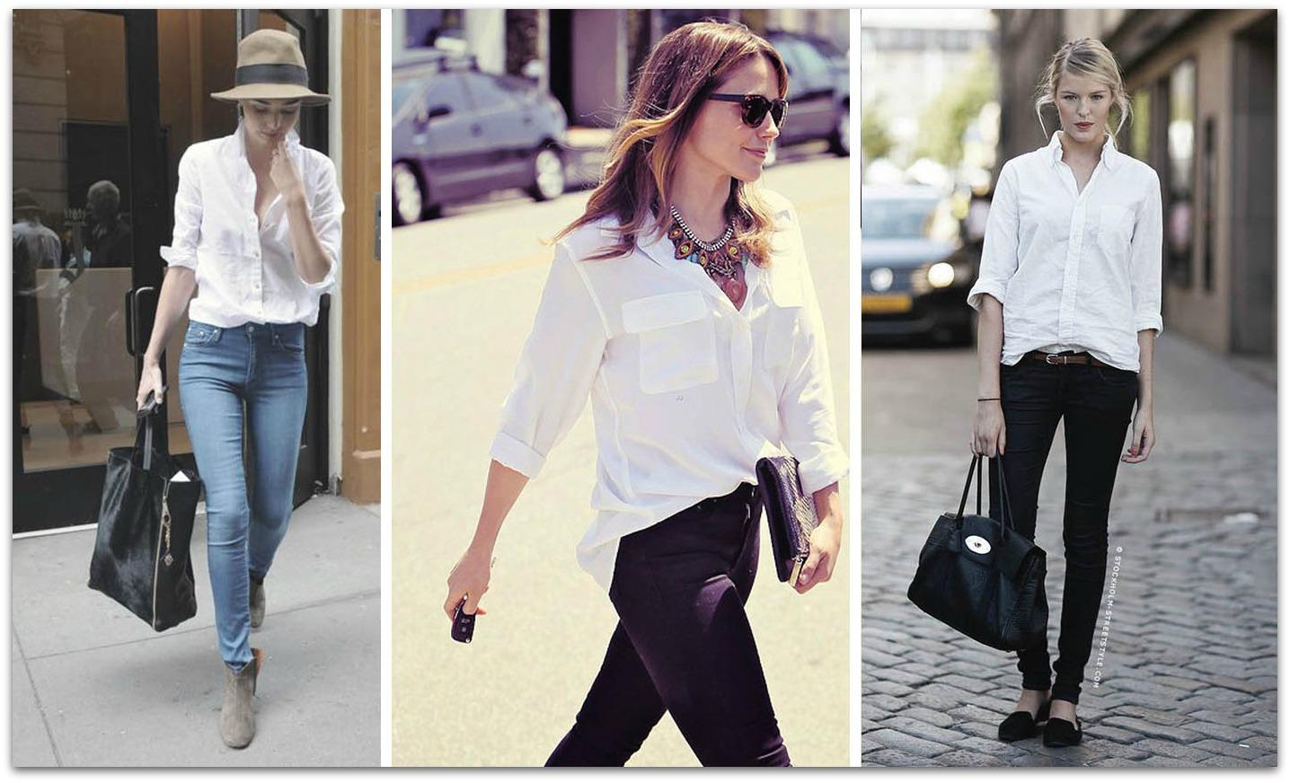 VITH consultoría de moda blog de moda tendencias invierno 13 14 comprar ropa online como combinar camisa blanca camisa blanca básica fondo de armario