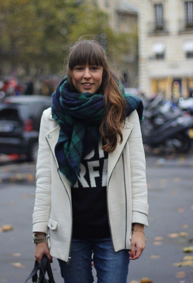 maxi bufanda zara xxl tendencia bufandas scarf vith consultoria de moda showroom las rozas tienda ropa